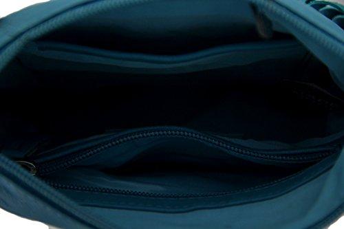 Zeckos - Borsa a tracolla donna Turquoise