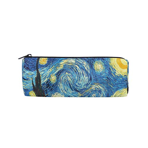 Van Gogh Starry Night matita penna bag custodia Holder, studenti ufficio College Middle High School trucco cosmetici Storage box organizer