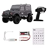 RGT RC Crawler, RGT RC Crawler, RGT 1/24 2.4G, 4WD 15KM / H RC Rock Crawler, Monster Buggy HSP Coche Niños Juguete