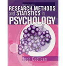 Research Methods & Statistics in Psychology 4th Edition