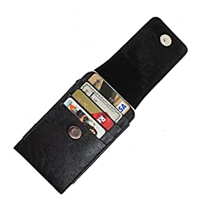 DooDa PU Leather Pouch Case Cover With Magnetic Closure For Samsung Galaxy Ace S5830