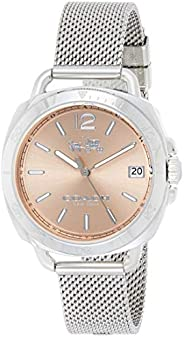 Coach Women's Rose Gold Dial Stainless Steel Watch - 1450