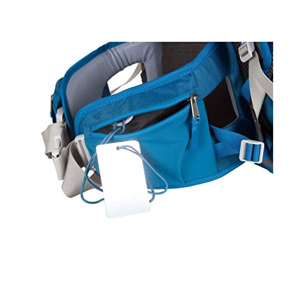 "LittleLife Unisex's Freedom S4 Child Carrier (blue) Back, One size LittleLife Anatomically shaped child seating area, with neck support and soft face pad Includes rear view mirror, sun shade and Foot stirrups Suitable for adults 1.57 - 1.87M/ 5'2"" - 6'4"" 8"