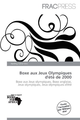 Boxe Aux Jeux Olympiques D' T de 2000