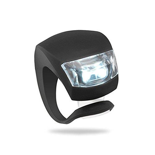 Demino 1/2 / 4pcs LED vélo vélo équitation Nuit d'avertissement de sécurité Grenouille Avant Feu arrière Feu arrière