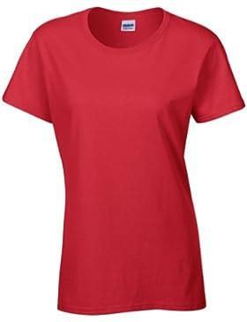 Gildan - Maglietta 100% Cotone - Donna