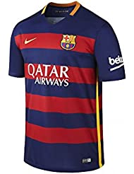 Image of 2015-2016 Barcelona Authentic Home Nike Shirt
