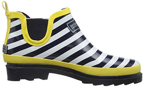 Regatta Lady Harper, Ankle boots sans doublure femme Blanc (Navy/Lemonte 84Q)