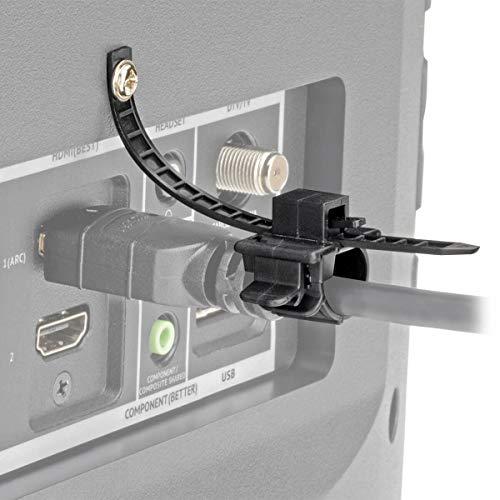 Tripp Lite-schwarz-audio-kabel (Tripp Lite P568-000-LOCK HDMI Kabelschloss, Klemme, Schraube, Universelles Design für Blu-Ray Installationen, schwarz)