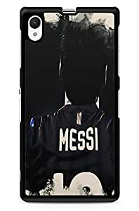 GeekCases Messi Ten Back Case for Sony_Xperia Xperia Z1