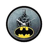 Mc Sid Razz Official DC Comics- Grunge Batman Wall Clock Gift Set Birthday