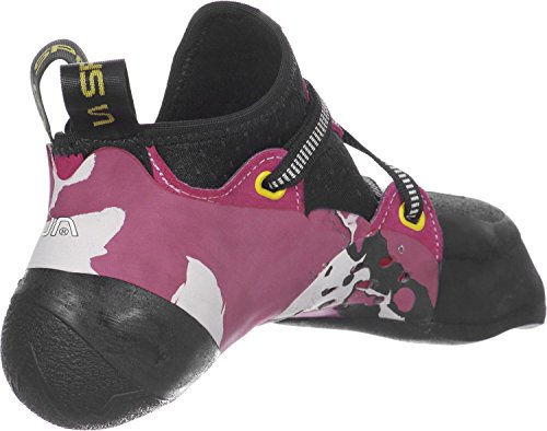 Damen Kletterschuhe Solution weiß/pink