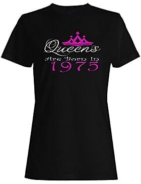 Queens nacieron en 1975 camiseta de las mujeres y21f