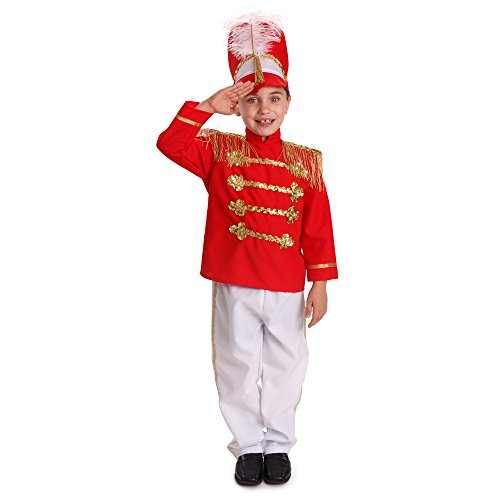 Dress Up America Jungen Fancy Trommel-Major Kostüm Kinder Fancy Marching Band Outfit (Kind's Marching Band Kostüm)