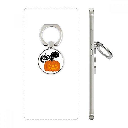 DIYthinker DREI Kürbisse Halloween Hallowmas Handy-Ring Ständer Halter Halterung Universal-Smartphones Unterstützung ()