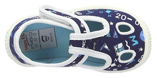 Superfit Bully, chaussons d'intérieur garçon Blau (ocean Kombi)