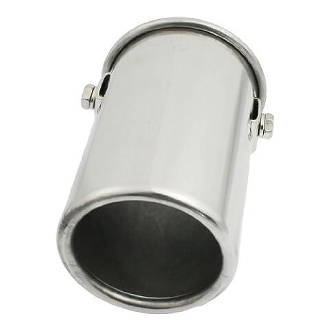 51mm x 100mm Round Exhaust Silencer Muffler Tip