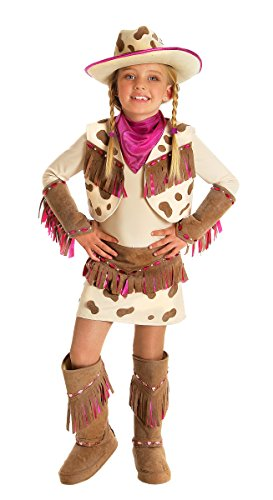 Childs Deluxe Rhinestone Cowgirl (Cowgirl Childs Kostüme Deluxe)