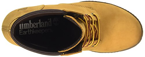 Timberland Ek Glancy 6in, Stivali Donna Amarillo - Jaune (Wheat)