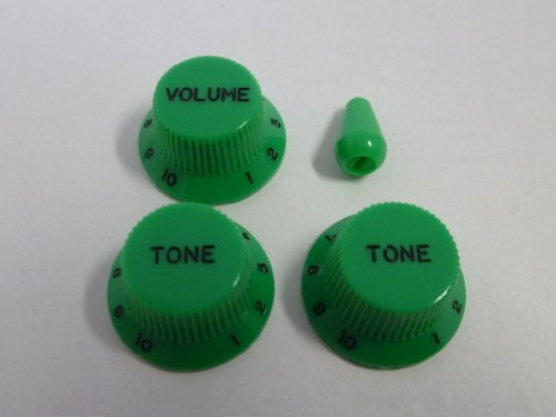 gemacht-in-japanhigh-quality-strat-knob-and-switch-knob-grn-metric-set