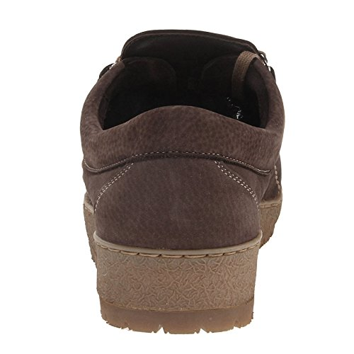 Mephisto Mens Rainbow Nubuck Shoes Brun Foncé