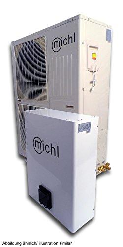 Michl split Luft/-Wasser Wärmepumpe 13,7 kW