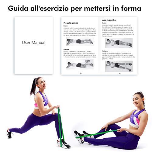 Zoom IMG-5 topelek elastici fitness banda elastica