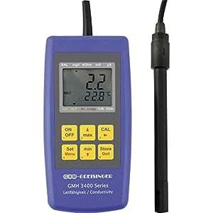Appareil de mesure de conductivité GMH 3431 Greisinger GMH 3431 Calibré selon Paramètres d'usine