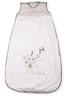 Sacos de Dormir para Bebé, Conejito y Cometa, Kiddy Kaboosh Varios Tamaños, Ligero, 0.5 Tog