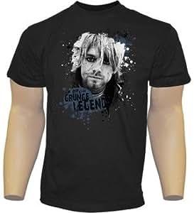 Nirvana T-Shirt Kurt Cobain GRÖßE XL