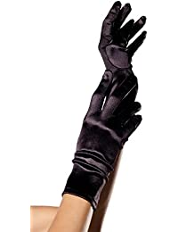 Satin Wrist Length Gloves For Women