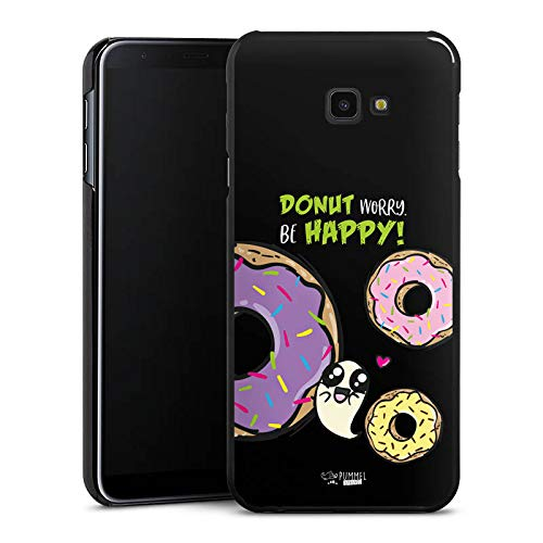 DeinDesign Hülle kompatibel mit Samsung Galaxy J4 Plus (2018) Handyhülle Case Pummeleinhorn Pummel und Freunde Donut