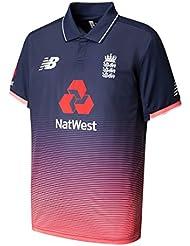 New Balance Inglaterra réplica ODI de críquet camiseta–Pigmento–pequeño