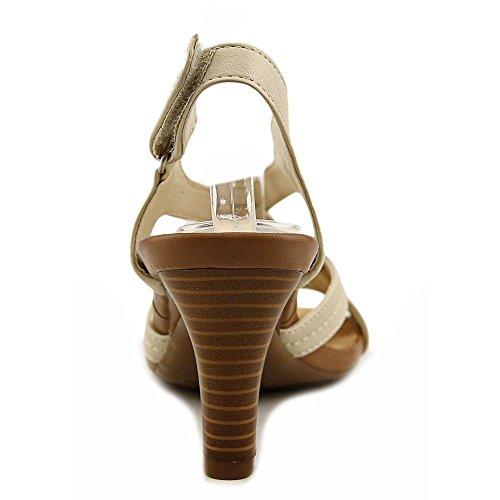 Aerosoles Wrote About Cuir Sandale Bone