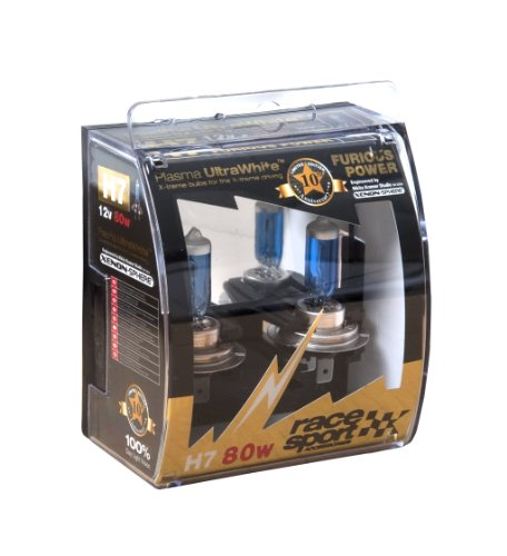 SUMEX PLA80H7 - BOMBILLA H7 80W 10 ANIVERSARIO FURIOUS BLANCO  PAR