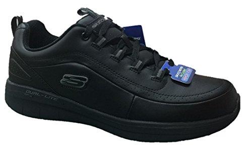Skechers Uomo Sinergy 2.0 WESTMARSH Black Scarpe Comode Memory Foam (44 EU) 5742ae0ac73
