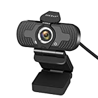 Webcam for PC, Eocean HD 1080P USB PC Computer Webcam with Microphone, Laptop Desktop Full HD Camera Video Webcam 110-Degree Widescreen, Pro Streaming Webcam for Recording,Calling,Conferencing,Gaming