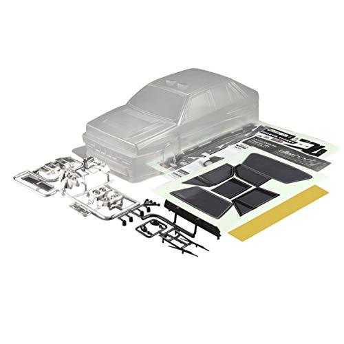 Noradtjcca Killerbody Lancia Delta HF Integral 16 V RC Body Frame Kit para 1/10 coche eléctrico RC Racing Car Shell DIY piezas