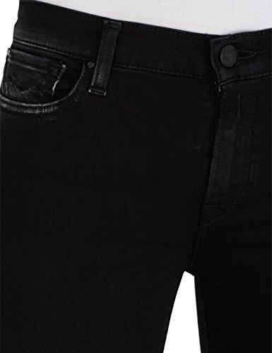 Replay Damen Skinny Jeans Joi Ankle Zip Schwarz (Black Denim 98)