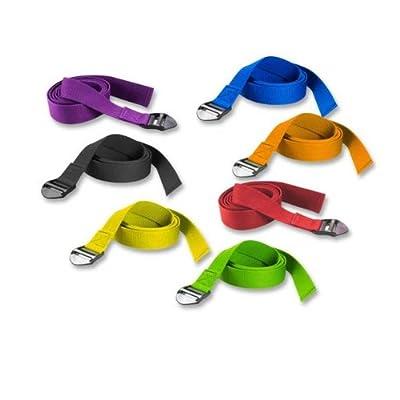 Trendy Sport Yoga Gürtel (190 cm x 4 cm) Yoga Gurt, Yoga Band, verschiedene Farben zur Auswahl