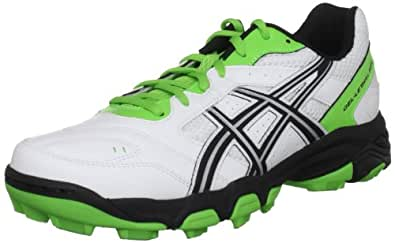 Asics Men's Gel Lethal Mp5 White/Black/Green Astro Trainer P230Y 0190 14 UK