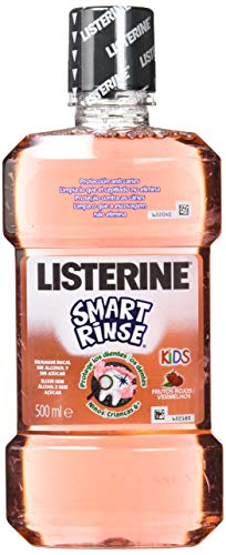 Listerine - Enjuague Bucal Smart Rinse 500 ml - Pack