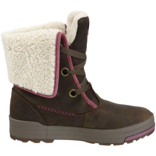 Keen chaussures women snowmass low boots bottes d'hiver pour femme top high bottes sneaker doublure Marron - Marron