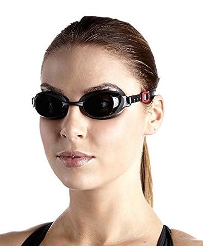 Speedo Aquapure Optische Gog AU Schwimmbrille, unisex, Aquapure Optical Gog Au, Grigio Ossido/Smoke, 1.5