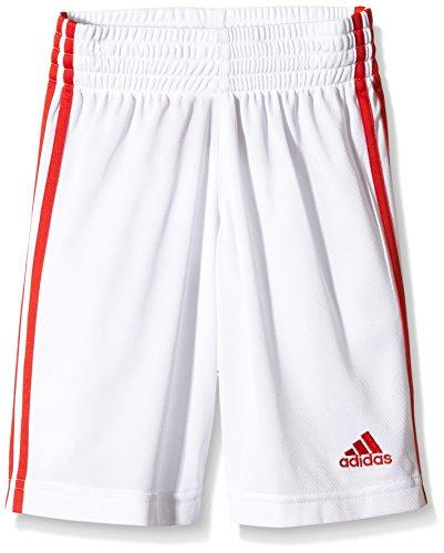 Adidas/Commander S - Pantaloni corti da uomo, UOMO, bianco / rosso, 176