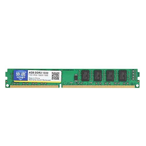Pc4200 Ram-speicher (Tangxi DDR3 RAM-Speicher, DDR3 8 GB Meomory 1333 MHz 1,5 V PC10600, Hochwertiger Desktop-Speicher für AMD-Motherboards, Voll kompatibel für Desktop-Computer)
