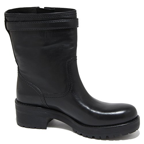 CALF PRADA 84114 shoes donna scarpa Nero ANFIBIO stivale SOFT women SPORT boots UHU5nwqIaf