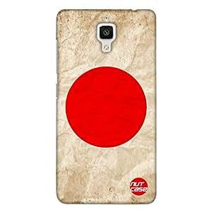Designer Xiaomi MI 4 Case Cover Nutcase -Japan Vintage Distressed Flag