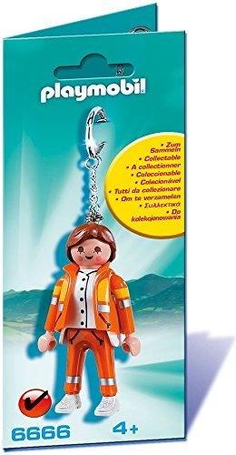 Playmobil Figures -  Figura de juguete para niños  (70 mm, 22 mm, 180 mm) color Naranja (6666)