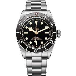 Tudor Patrimonio Negro Bahía 79230N hombres del reloj